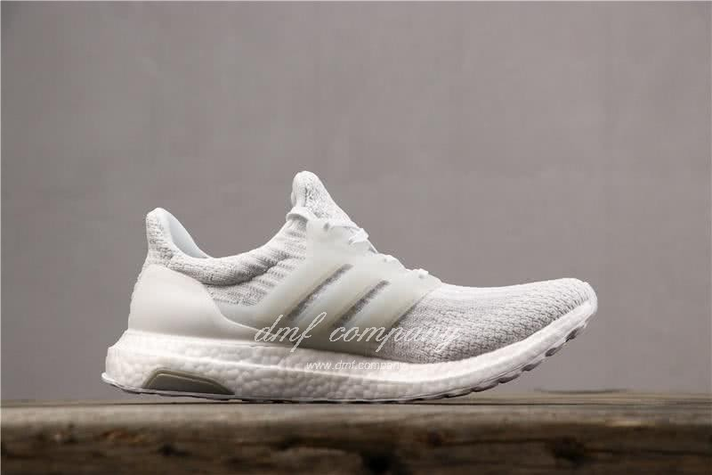 Adidas Ultra Boost 3.0 Men Women White Shoes 3