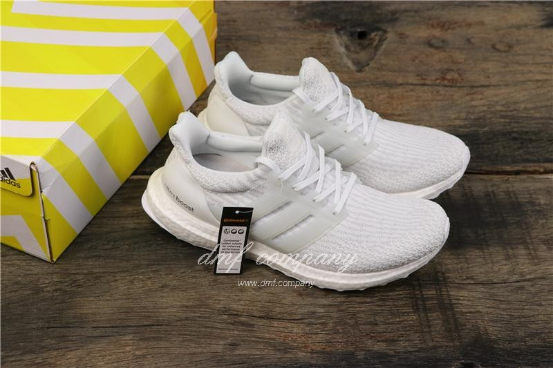 Adidas Ultra Boost 3.0 Men Women White Shoes 8
