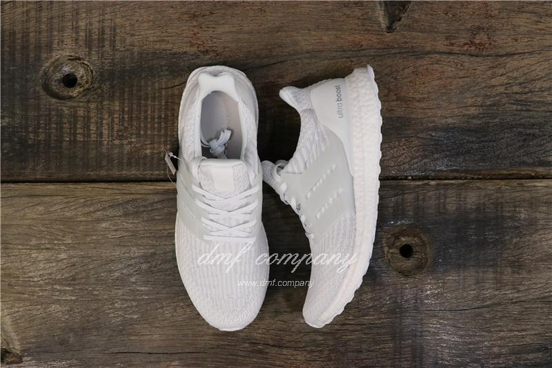 Adidas Ultra Boost 3.0 Men Women White Shoes 1