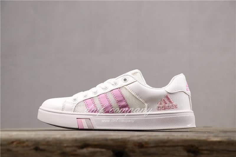 Adidas NEO Shoes White/Pink Women 1