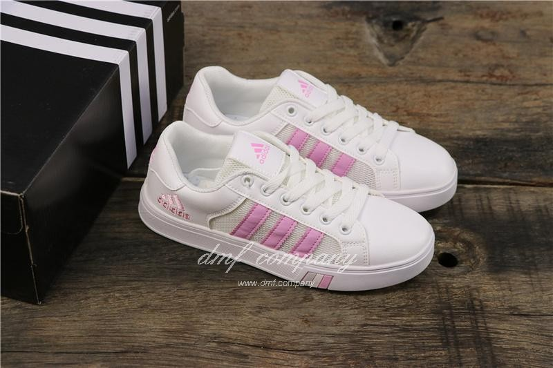 Adidas NEO Shoes White/Pink Women 7