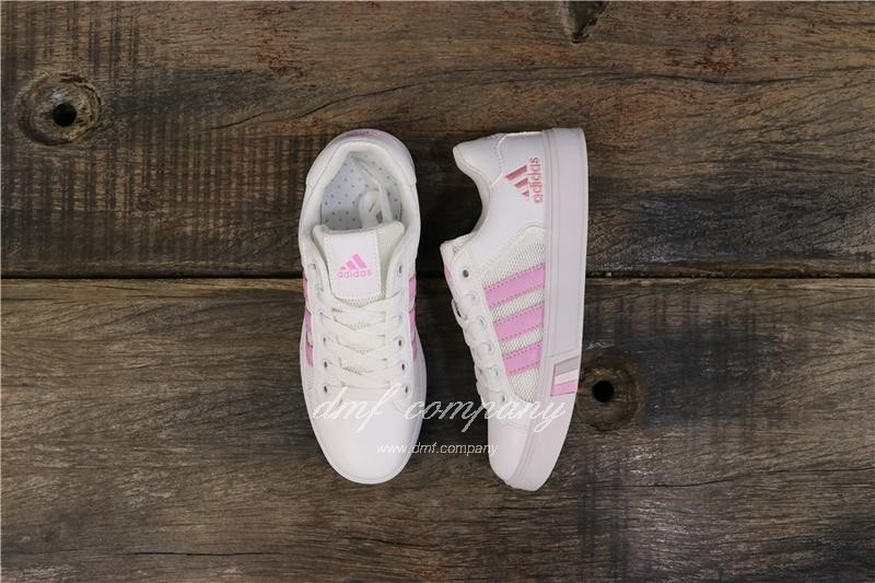 Adidas NEO Shoes White/Pink Women 8