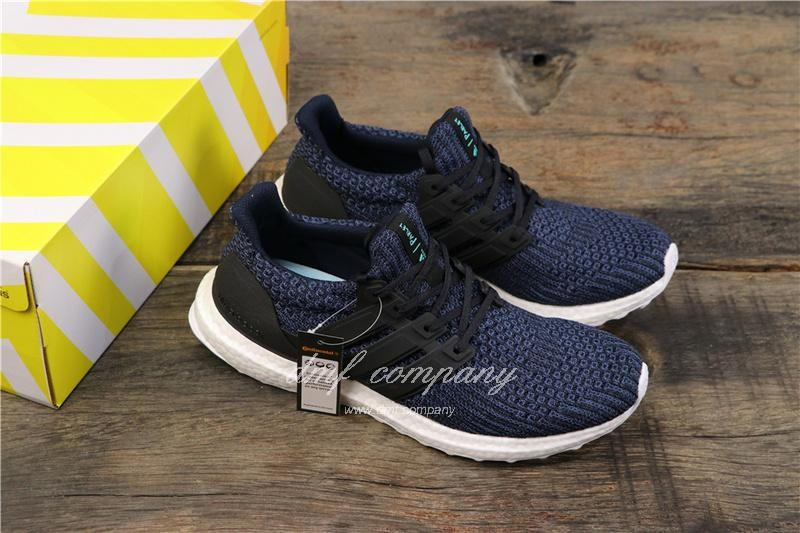 Adidas Ultra Boost 4.0 Men Women Blue Shoes 8