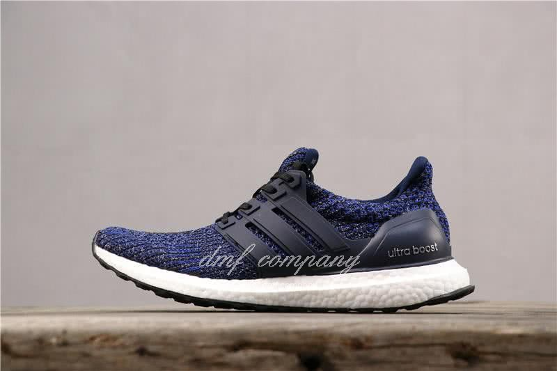 Adidas Ultra Boost 4.0 Men Women Blue Shoes 2