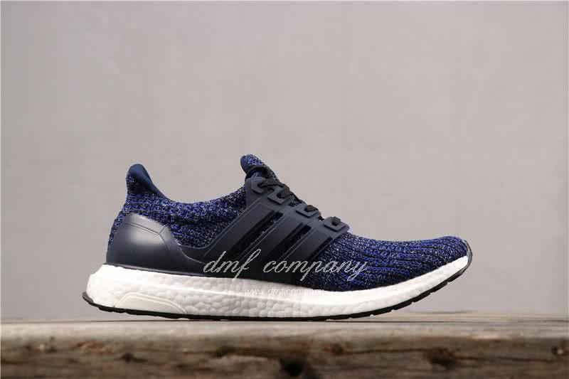 Adidas Ultra Boost 4.0 Men Women Blue Shoes 3