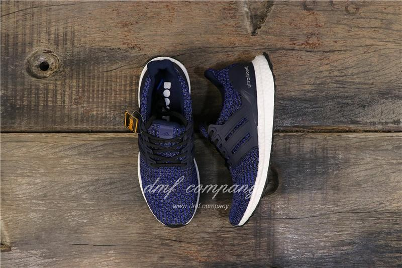 Adidas Ultra Boost 4.0 Men Women Blue Shoes 1