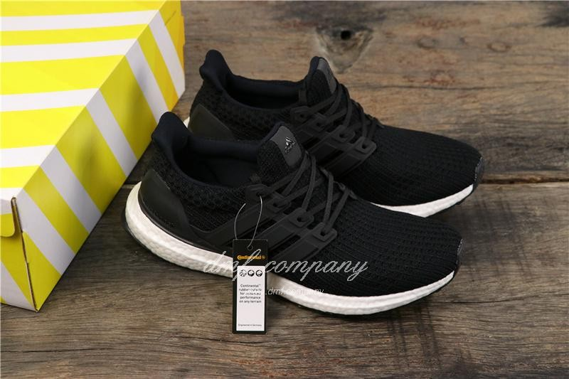 Adidas Ultra Boost 4.0 Men Women Black Shoes 7