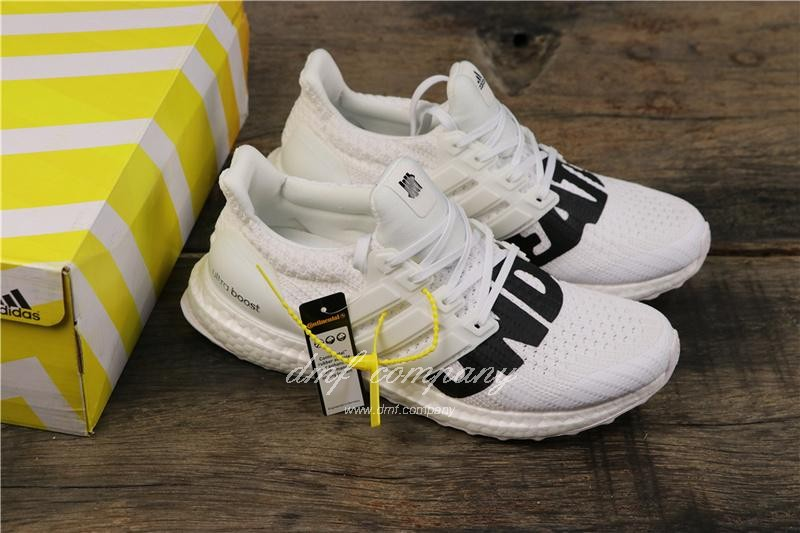 Adidas x Undefeated Ultra Boost 4.0 Men Women White Shoes 8