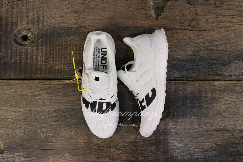 Adidas x Undefeated Ultra Boost 4.0 Men Women White Shoes 1