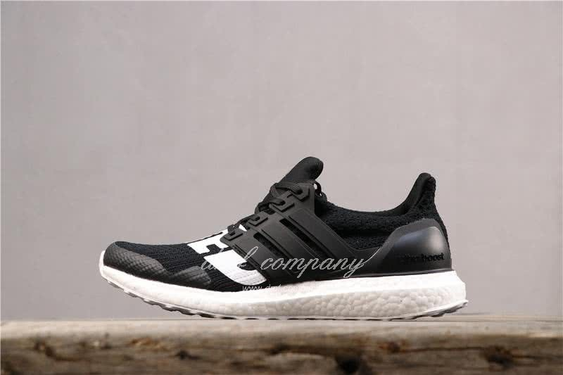Adidas x Undefeated Ultra Boost 4.0 Men Women Black Shoes 2
