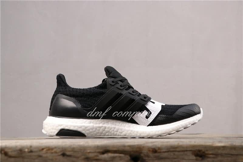 Adidas x Undefeated Ultra Boost 4.0 Men Women Black Shoes 3