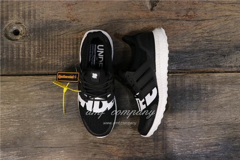 Adidas x Undefeated Ultra Boost 4.0 Men Women Black Shoes 1