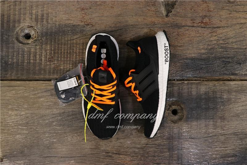 Adidas Ultra Boost 4.0 Men Women Black Shoes 1
