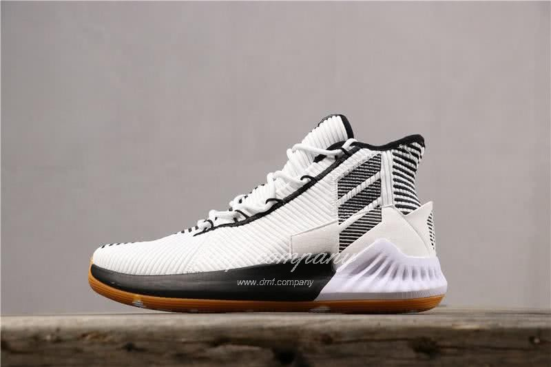 ADIDAS D Rose 9 Shoes Black/White Men 1