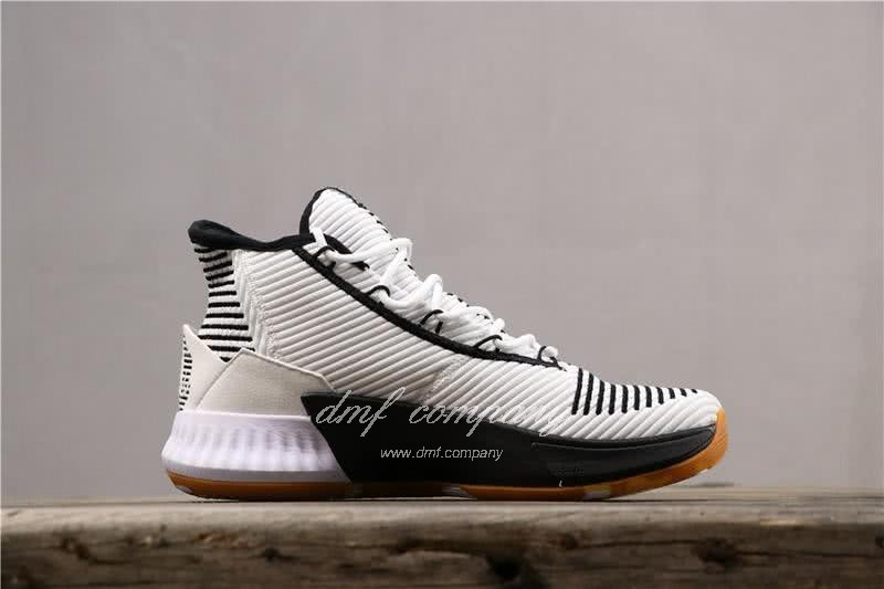 ADIDAS D Rose 9 Shoes Black/White Men 2