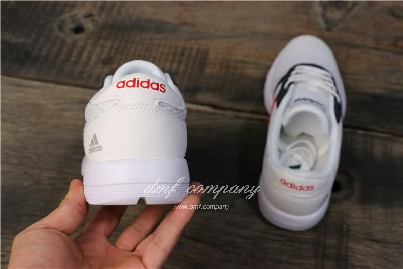 Adidas NEO Shoes Black/White Women/Men 4