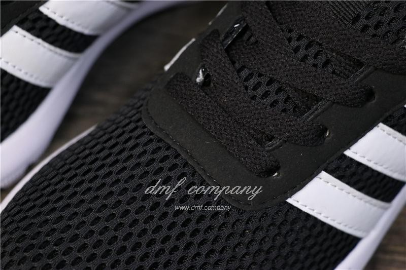 Adidas NEO Shoes Black/White Men/Women 5