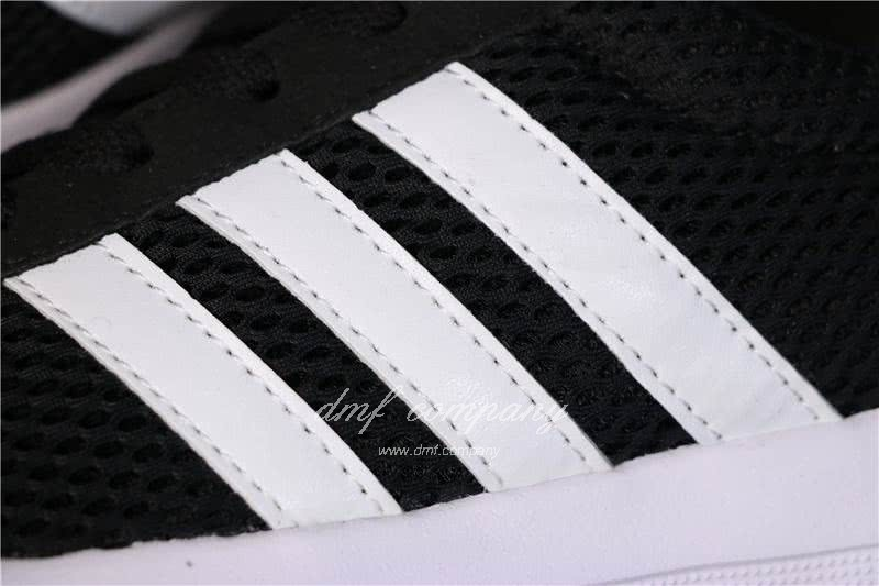 Adidas NEO Shoes Black/White Men/Women 6