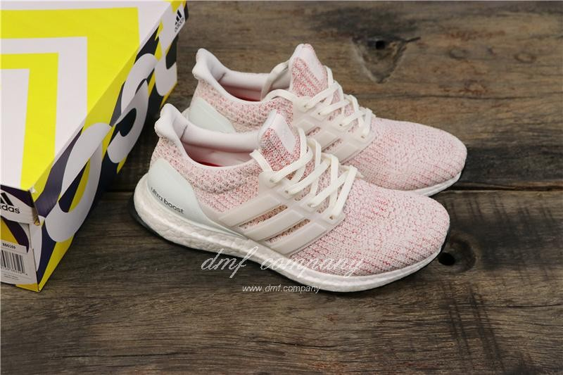Adidas Ultra Boost 4.0 Men Women Pink Shoes  8
