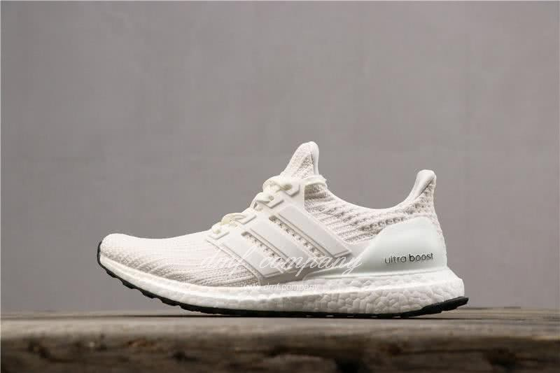 Adidas Ultra Boost 4.0 Men Women White Shoes  2