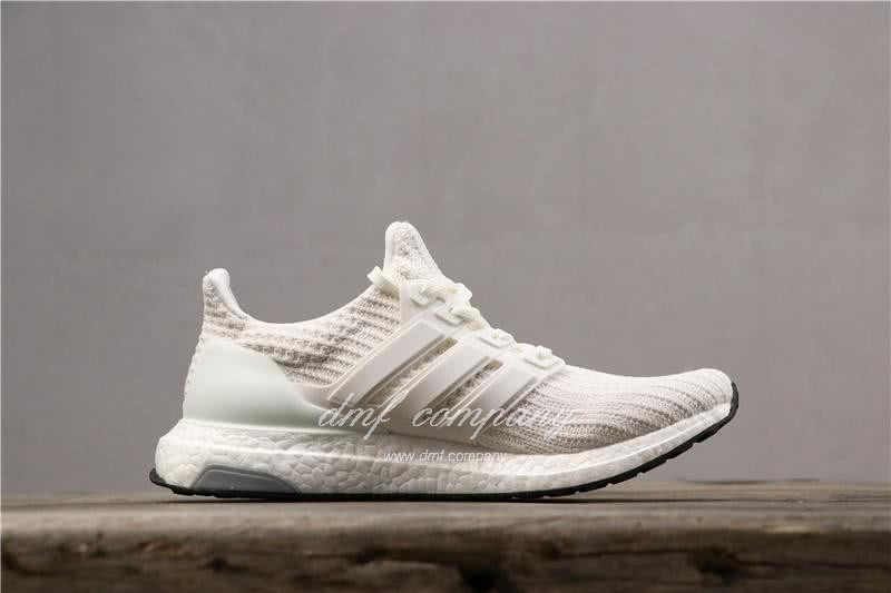 Adidas Ultra Boost 4.0 Men Women White Shoes  3