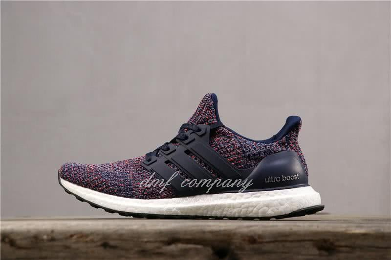 Adidas Ultra Boost 4.0 Men Blue Red Shoes 2