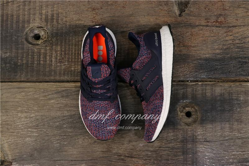 Adidas Ultra Boost 4.0 Men Blue Red Shoes 1
