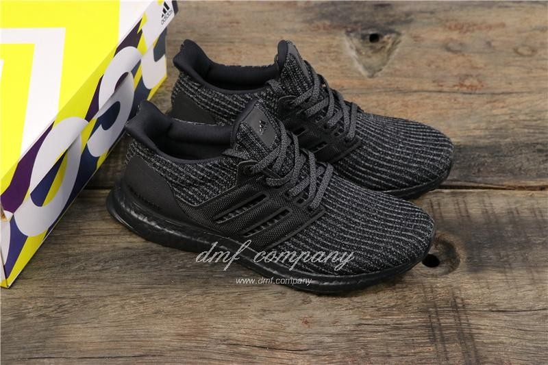 Adidas Ultra Boost 4.0 Men Women Black Shoes 8