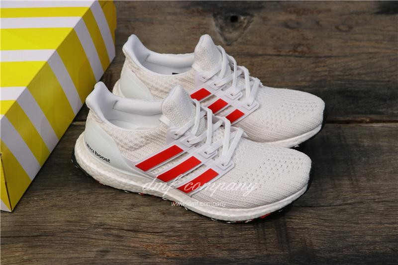 Adidas Ultra Boost 4.0 Men White Shoes 8