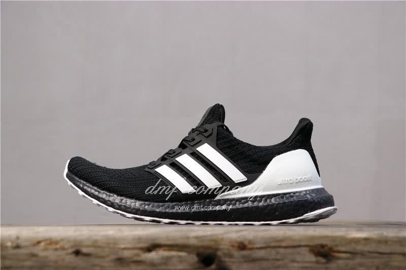 Adidas Ultra Boost 4.0 Men White Black Shoes 3