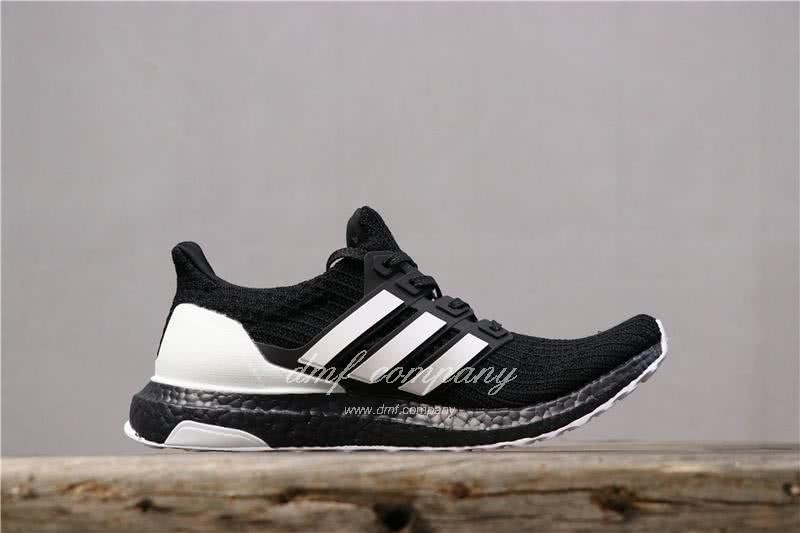 Adidas Ultra Boost 4.0 Men White Black Shoes 4