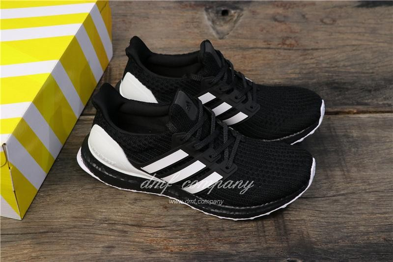 Adidas Ultra Boost 4.0 Men White Black Shoes 1