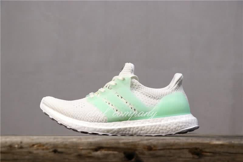 Adidas Ultra Boost TUANYUAN Men White Green Shoes 3