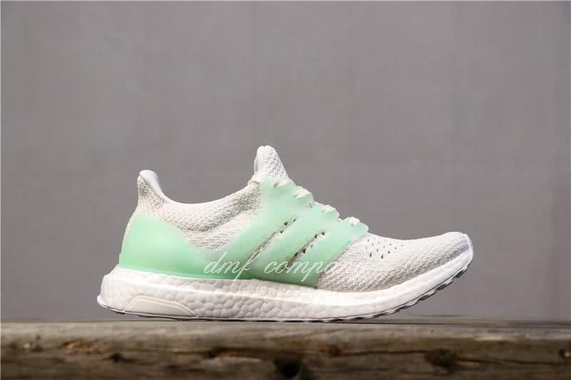 Adidas Ultra Boost TUANYUAN Men White Green Shoes 4