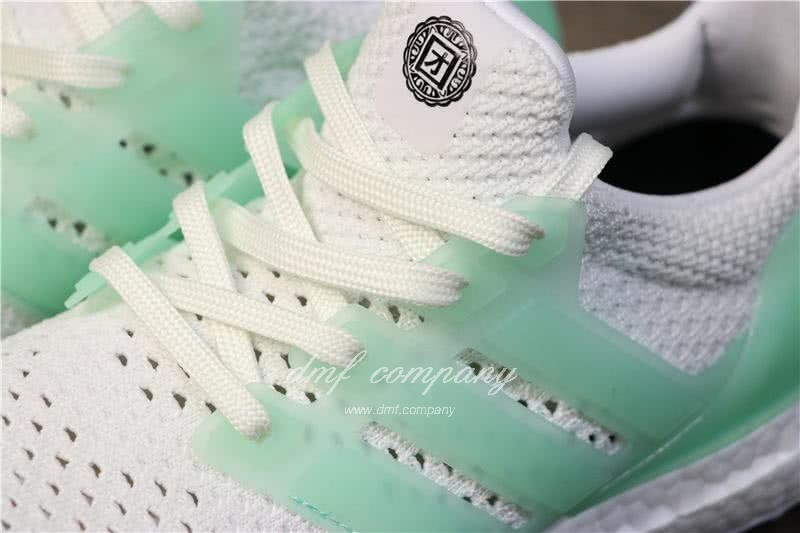 Adidas Ultra Boost TUANYUAN Men White Green Shoes 7