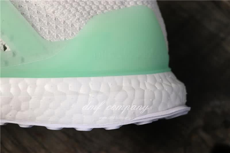 Adidas Ultra Boost TUANYUAN Men White Green Shoes 8