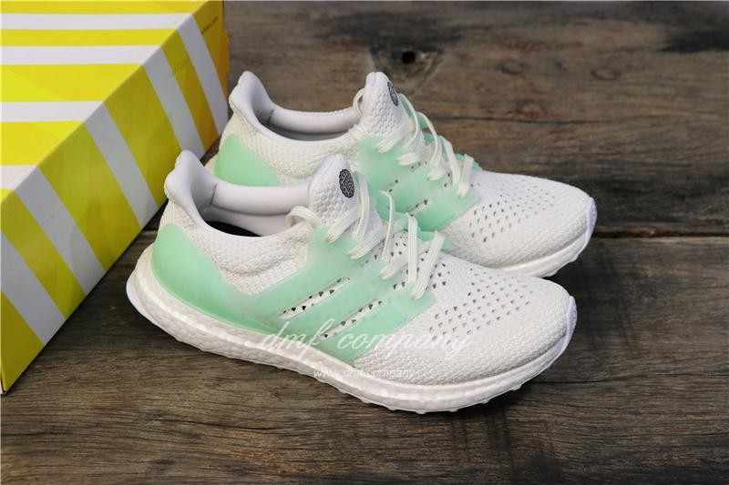Adidas Ultra Boost TUANYUAN Men White Green Shoes 1