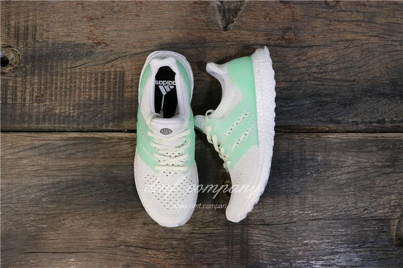 Adidas Ultra Boost TUANYUAN Men White Green Shoes 2