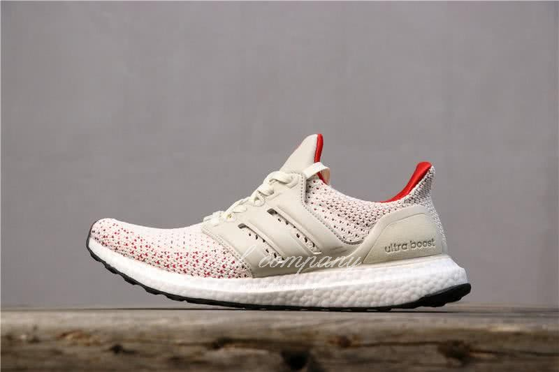 Adidas Ultra Boost TUANYUAN Men White Red Shoes 3