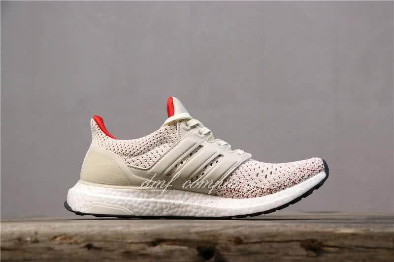 Adidas Ultra Boost TUANYUAN Men White Red Shoes 4