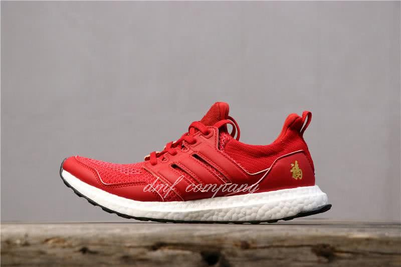 Eddie Huang X Adidas Ultra Boost 4.0 Men Red Shoes 2