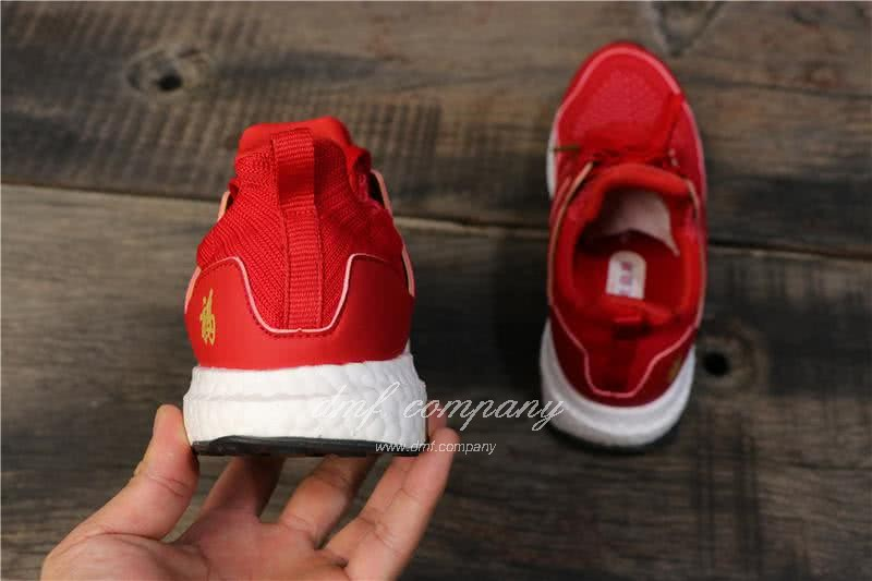 Eddie Huang X Adidas Ultra Boost 4.0 Men Red Shoes 5