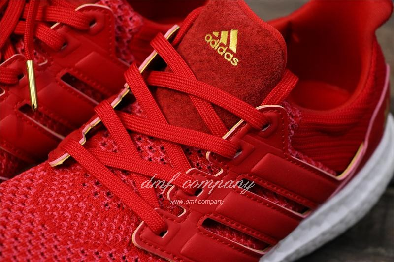 Eddie Huang X Adidas Ultra Boost 4.0 Men Red Shoes 6