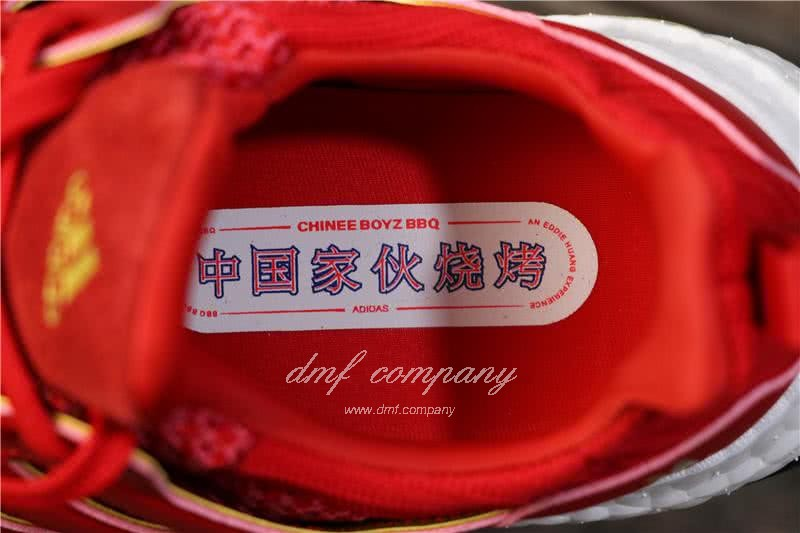 Eddie Huang X Adidas Ultra Boost 4.0 Men Red Shoes 7