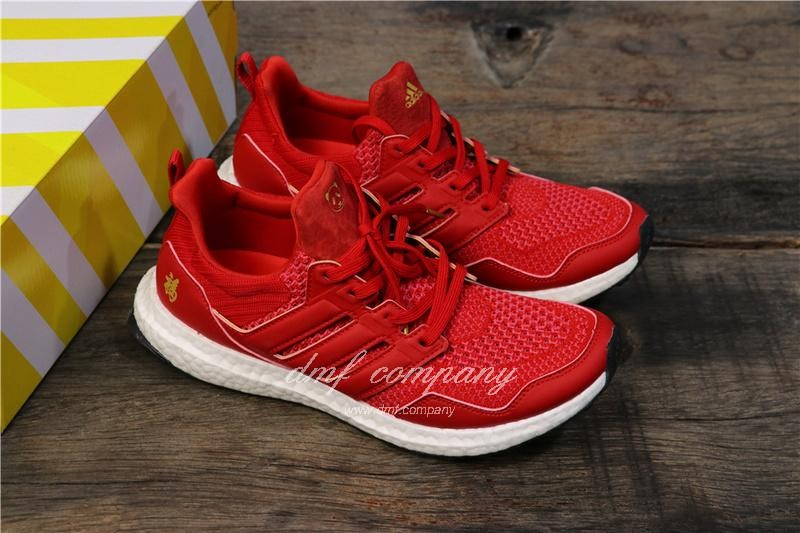 Eddie Huang X Adidas Ultra Boost 4.0 Men Red Shoes 1
