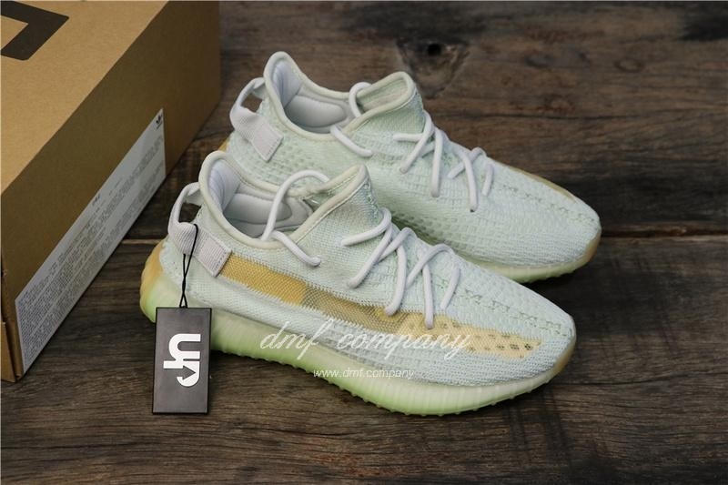 "Adidas Yeezy Boost 350 V2 ""Hyperspace"" UP Shoes White Women 7"