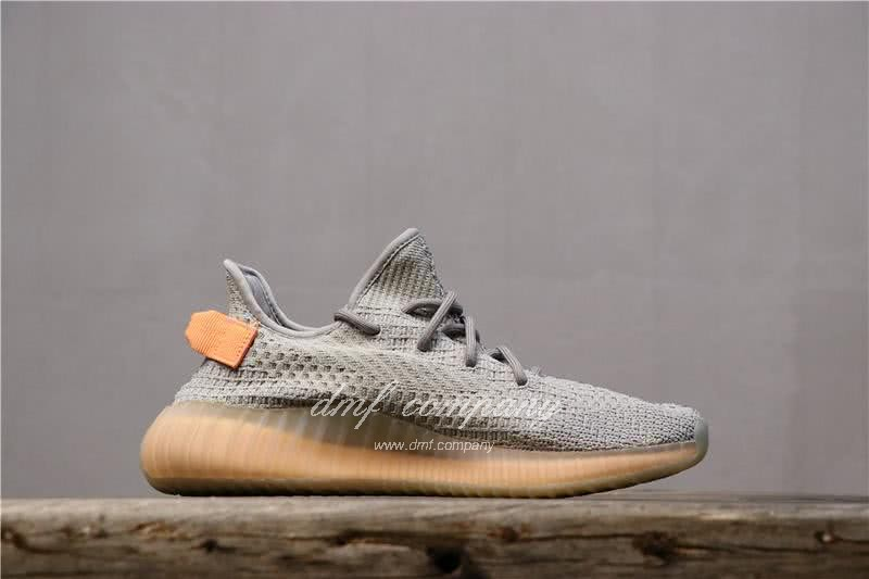 """Adidas Yeezy Boost 350 V2 """"Hyperspace"""" UP Shoes Grey Women/Men 2"""