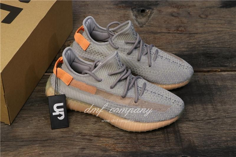 """Adidas Yeezy Boost 350 V2 """"Hyperspace"""" UP Shoes Grey Women/Men 7"""