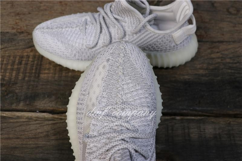 "Adidas Yeezy 350 V2 Boost ""STATIC REFLECTIVE"" UP Shoes Grey Men/Women 5"