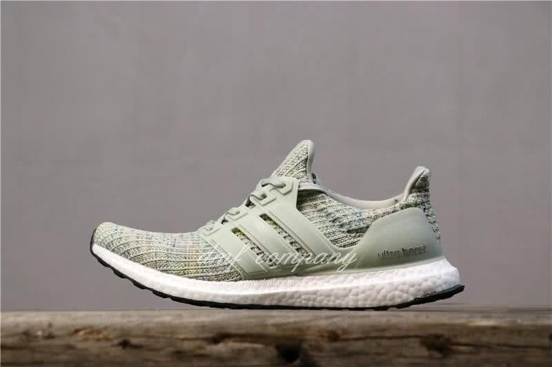 Adidas Ultra Boost 4.0 Green Men Shoes 3